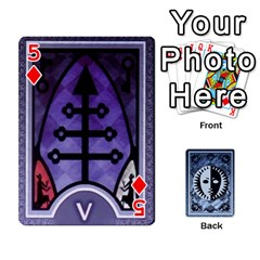 Persona Playing Cards By Anon   Playing Cards 54 Designs   R7f6e23xdd2v   Www Artscow Com Front - Diamond5