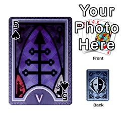 Persona Playing Cards By Anon   Playing Cards 54 Designs   R7f6e23xdd2v   Www Artscow Com Front - Spade5