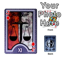 Jack Persona Playing Cards By Anon   Playing Cards 54 Designs   R7f6e23xdd2v   Www Artscow Com Front - DiamondJ