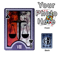 Persona Playing Cards By Anon   Playing Cards 54 Designs   R7f6e23xdd2v   Www Artscow Com Front - Club8