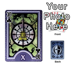 Persona Playing Cards By Anon   Playing Cards 54 Designs   R7f6e23xdd2v   Www Artscow Com Front - Club10