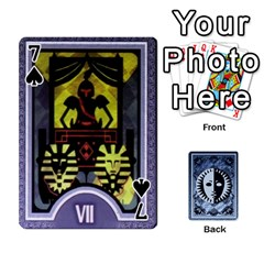 Persona Playing Cards By Anon   Playing Cards 54 Designs   R7f6e23xdd2v   Www Artscow Com Front - Spade7