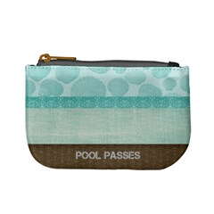 Pool Passes By Sara Irvine   Mini Coin Purse   Hcjcs7jybruf   Www Artscow Com Front