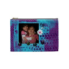 Some Kind Of Loving Medium Bag By Marie H Designs   Cosmetic Bag (medium)   W3022c20rrwn   Www Artscow Com Front