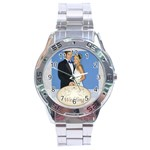 wedding - Stainless Steel Analogue Men's Watch