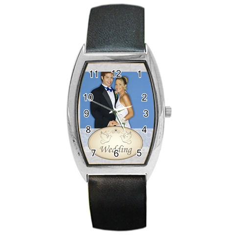 Wedding By Joely   Barrel Style Metal Watch   F45iaxph8aqu   Www Artscow Com Front