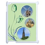 Little Green Tulip Apple iPad 2 Case - Apple iPad 2 Case (White)