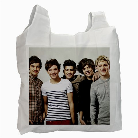 1d By Lacey   Recycle Bag (one Side)   Geiyntzvb3ox   Www Artscow Com Front