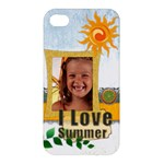 summer - Apple iPhone 4/4S Hardshell Case