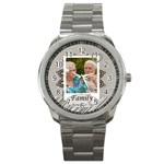 family - Sport Metal Watch