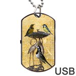 Bird bath USB flash dog tag - Dog Tag USB Flash (One Side)