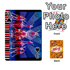 Bio Playing Cards 54 Final By Pat Kirby   Playing Cards 54 Designs   N6o9uectlw0x   Www Artscow Com Front - Spade3