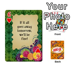 Bio Playing Cards 54 Final By Pat Kirby   Playing Cards 54 Designs   N6o9uectlw0x   Www Artscow Com Front - Heart6