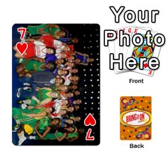 Bio Playing Cards 54 Final By Pat Kirby   Playing Cards 54 Designs   N6o9uectlw0x   Www Artscow Com Front - Heart7