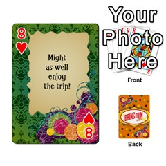 Bio Playing Cards 54 Final By Pat Kirby   Playing Cards 54 Designs   N6o9uectlw0x   Www Artscow Com Front - Heart8