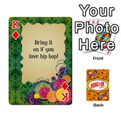 King Bio Playing Cards 54 Final By Pat Kirby   Playing Cards 54 Designs   N6o9uectlw0x   Www Artscow Com Front - DiamondK