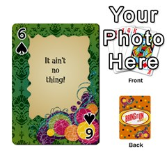 Bio Playing Cards 54 Final By Pat Kirby   Playing Cards 54 Designs   N6o9uectlw0x   Www Artscow Com Front - Spade6