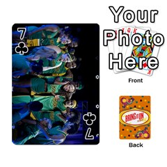 Bio Playing Cards 54 Final By Pat Kirby   Playing Cards 54 Designs   N6o9uectlw0x   Www Artscow Com Front - Club7