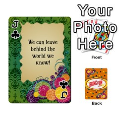 Jack Bio Playing Cards 54 Final By Pat Kirby   Playing Cards 54 Designs   N6o9uectlw0x   Www Artscow Com Front - ClubJ