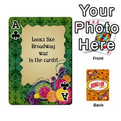 Ace Bio Playing Cards 54 Final By Pat Kirby   Playing Cards 54 Designs   N6o9uectlw0x   Www Artscow Com Front - ClubA