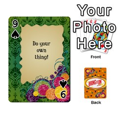 Bio Playing Cards 54 Final By Pat Kirby   Playing Cards 54 Designs   N6o9uectlw0x   Www Artscow Com Front - Spade9