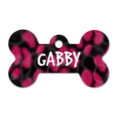 Gabby By Tari Lawrence   Dog Tag Bone (two Sides)   T68buvkre2zd   Www Artscow Com Front