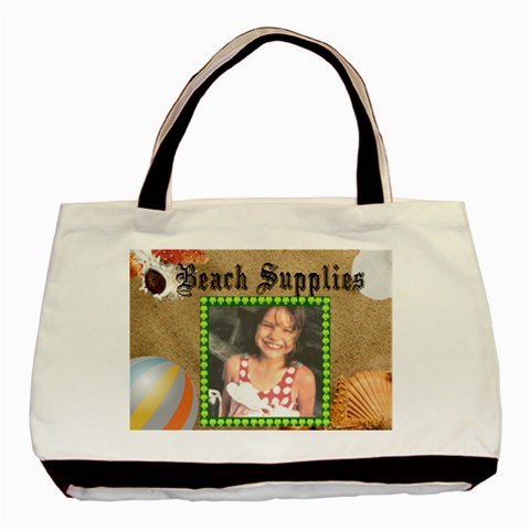 Beach Supplies Classic Tote Bag By Kim Blair   Basic Tote Bag   Vsfea4ruhio9   Www Artscow Com Front