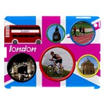 London 12 Apple iPad 3 (Comp with smart cover) Hardshell - Apple iPad 3/4 Hardshell Case (Compatible with Smart Cover)
