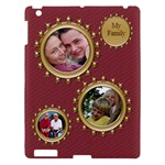 My Family Apple iPad 3 Hardshell Case - Apple iPad 3/4 Hardshell Case