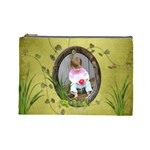 French Garden Vol1 - Cosmetic Bag (LG)  - Cosmetic Bag (Large)