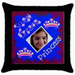 Sweet Dream Throw Pillow Case - Throw Pillow Case (Black)