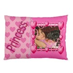 Princess Heart Pillow Case