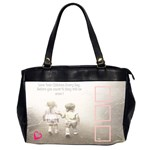 Oversize office bag-love your children - Oversize Office Handbag (2 Sides)