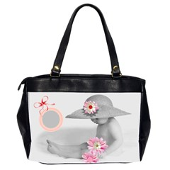 Oversize Office Bag Love Your Children By Birkie   Oversize Office Handbag (2 Sides)   83ww9edl91g8   Www Artscow Com Back