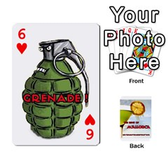 Mallorca By Gaby   Playing Cards 54 Designs   8it8vd8n8ozn   Www Artscow Com Front - Heart6