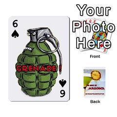 Mallorca By Gaby   Playing Cards 54 Designs   8it8vd8n8ozn   Www Artscow Com Front - Spade6