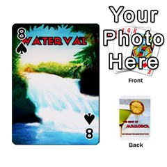Mallorca By Gaby   Playing Cards 54 Designs   8it8vd8n8ozn   Www Artscow Com Front - Spade8