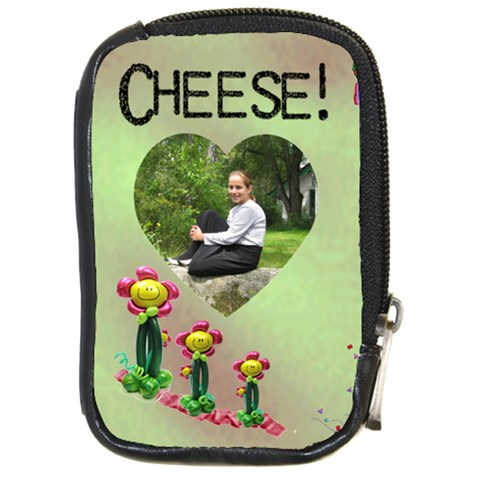Cheesy Camera Case By Malky   Compact Camera Leather Case   Msyjuicqlgvs   Www Artscow Com Front