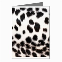 Snow Leopard	 Greeting Card by animalPrint