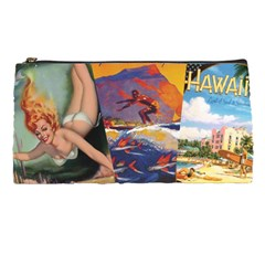 Hawaiian Print Pencil Case By Leandra Jordan   Pencil Case   G4l9spq50geg   Www Artscow Com Front