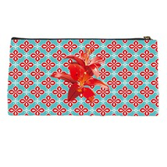 Hawaiian Print Pencil Case By Leandra Jordan   Pencil Case   G4l9spq50geg   Www Artscow Com Back