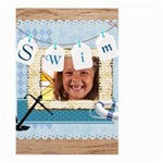 swim - Large Garden Flag (Two Sides)