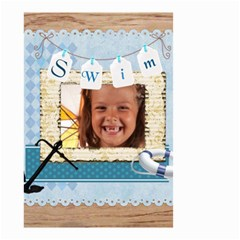 Swim By Joely   Small Garden Flag (two Sides)   Nfumzxbsgn78   Www Artscow Com Front