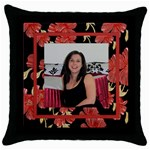 Our Love Throw Pillow 2 - Throw Pillow Case (Black)