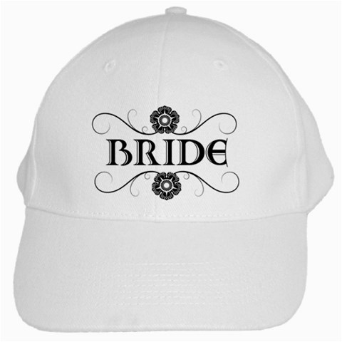Bride Hat By Patricia W   White Cap   I87yrwtlke3h   Www Artscow Com Front