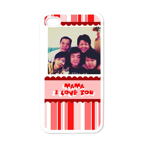 Mom By Lam Hoi Yan Shirley   Apple Iphone 4 Case (white)   Cw8829h6q4za   Www Artscow Com Front