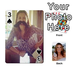 Kate Playing Cards By Karen   Playing Cards 54 Designs   C9joovjddwhq   Www Artscow Com Front - Spade3