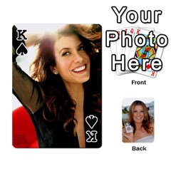 King Kate Playing Cards By Karen   Playing Cards 54 Designs   C9joovjddwhq   Www Artscow Com Front - SpadeK