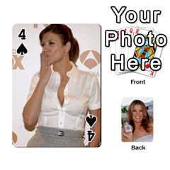 Kate Playing Cards By Karen   Playing Cards 54 Designs   C9joovjddwhq   Www Artscow Com Front - Spade4