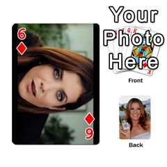 Kate Playing Cards By Karen   Playing Cards 54 Designs   C9joovjddwhq   Www Artscow Com Front - Diamond6